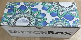 sketchbox subscription box review coupon u2013 march 2016 my