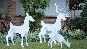 outdoor decorations deer decorations deer