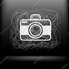 sketch camera u2014 stock vector vitalkaka 43487781