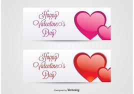 happy valentines day banner s day banners free vector stock graphics