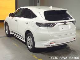 lexus harrier 2016 brand new 2016 toyota harrier white for sale stock no 63206