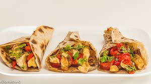 cuisine mexicaine recette tortilla au poulet et aux poivrons kilometre 0 fr