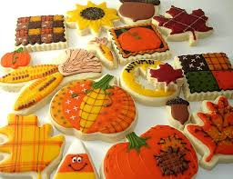 156 best thanksgiving fall cookies images on fall