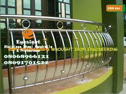 Stainless Steel Handrail Designs Stainless Steel Handrails U0026 Protectors 08068966121 08091701522