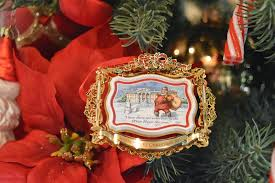 a spoonful of thyme white house christmas ornaments and my cousin