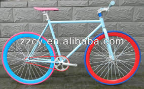 fixie design wholesale 2017 new design fixed gear bike colorful fixie bicycle