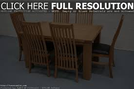 Extending Dining Table And 6 Chairs with Solid Oak Extending Dining Table And 6 Chairs Sl Interior Design