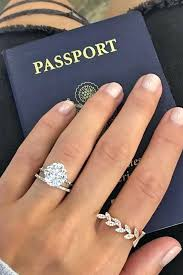 plain engagement ring with diamond wedding band diamond wedding ring bands like the idea of this one with the