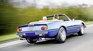 1972 daytona spyder 1972 365 gtb 4 daytona spyder by straman road test drive