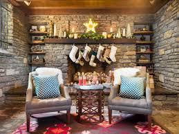 christmas mantel decor 28 christmas mantel decorating ideas hgtv
