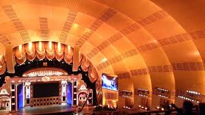 nyc inside radio city music hall before the tony awards show