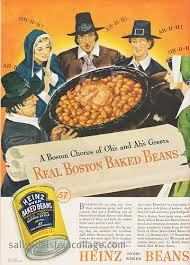 vintage thanksgiving ad heinz baked beans 1937 retro a rama