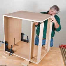 Building A Base Cabinet For The Kitchen  Rockler Howto - Kitchen cabinet carcase
