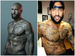 top 8 most tattooed football players breaking from around the