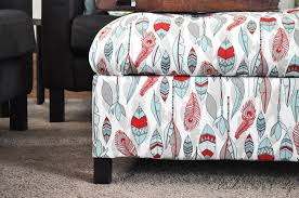 Storage Ottoman Upholstered Diy Upholstered Storage Ottoman How To Build An Ottoman
