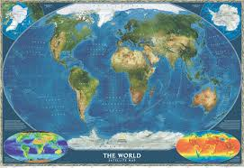 World Map Us by Satellite World Map World Maps National Geographic Maps