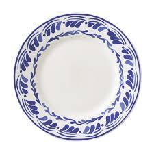 aerin sea blue floral dinner plates williams sonoma