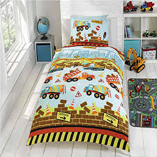Single Bed Sets Construction Duvet Covers Various Designs Available In Single