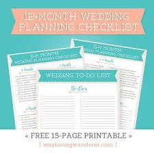 wedding planning list template the 25 best printable wedding planning checklist ideas on