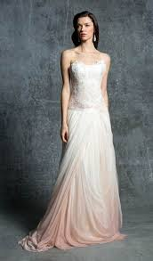 ombré wedding dress ombre sleeves and bare backs fall 2014 wedding gown trends