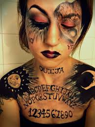 ouija makeup look ouija board makeup ouija board costume makeup