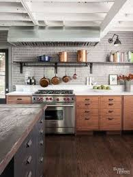Industrial Kitchens Design English Manor House Inspired Nyc Kitchen From Elle Decor