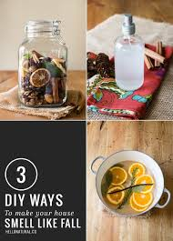 scented indoor l oil 3 easy diy ways to make your house smell like fall hello glow