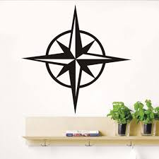 popular compass roses buy cheap compass roses lots from china compasses rose wall stickers living room home decor vinyl adhesive wall decals sticker diy mural high