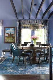 rugs beautiful navy blue area rug for dining room decorating
