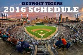 circle these dates on the tigers 2016 schedule