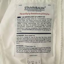 stammbaum co jp stammbaum limonta社生地 ナイロンコート シュタンバウム メンズ