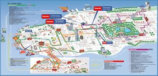 Where Is Manhattan In New York Map by Large Printable Tourist Attractions Map Of Manhattan New York