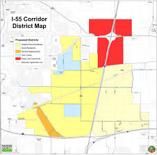 Illinois Road Construction Map by I 55 Corridor Plan