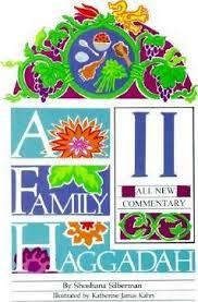 family haggadah a family haggadah ii shoshana silberman 9780929371962