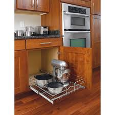 Kitchen Base Cabinets Home Depot Rev A Shelf 7 In H X 17 75 In W X 22 In D Base Cabinet Pull Out