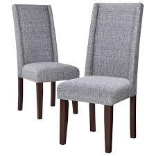 wingback dining room chairs wingback dining chair solid wood legs nail head detail tapered