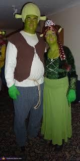 Shrek Halloween Costumes Adults Diy Shrek Princess Fiona Couples Costume