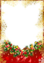 red christmas png frame with gold snowflakes ekeresimesi