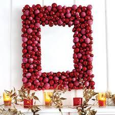 diy decor decorate a mirror with mini ornaments to