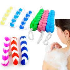 puff bath brushes sponges ebay back scrubber bath shower mesh sponge exfoliating body brush wash nylon puff spa
