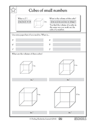 volume of a cube worksheet free worksheets library download and