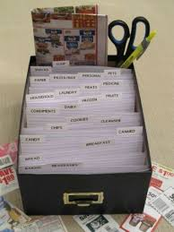 how to organize coupons or also how to organize business cards