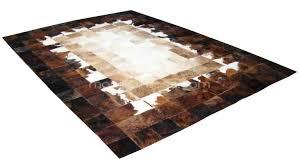 tapis de cuisine originaux tapis peaux de vache un tapis original tendance en peau de