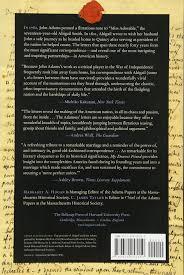 Sad Love Letters To Him Amazon Com My Dearest Friend Letters Of Abigail And John Adams