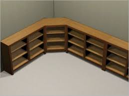Build Corner Bookcase Bookshelf Design Plans Corner Bookcase Woodworking Dma Homes