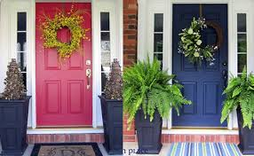 Picking A Front Door Color Picking The Right Front Door Color Before And After Case Studies