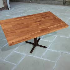 outdoor table top replacement wood solid oak replacement table tops for summer dining outside worktop