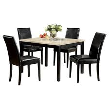 Acme Dining Room Furniture Acme Furniture Dining Table Set White Black Target