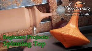 Top Woodworking Ideas For Beginners by Spinning Top Beginners Woodturning Project Youtube