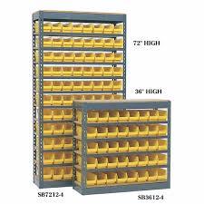 Storage Bin Shelves by Plastic Bin Shelving Units With Stackable Bins Storage Rack